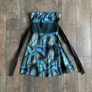 NWT Free People Strapless Tie-Back Dress